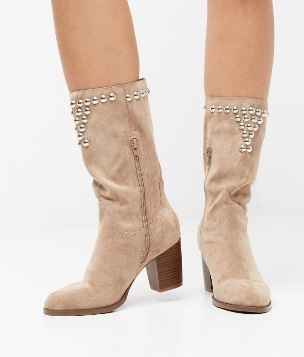 Dundy Boot - Beige