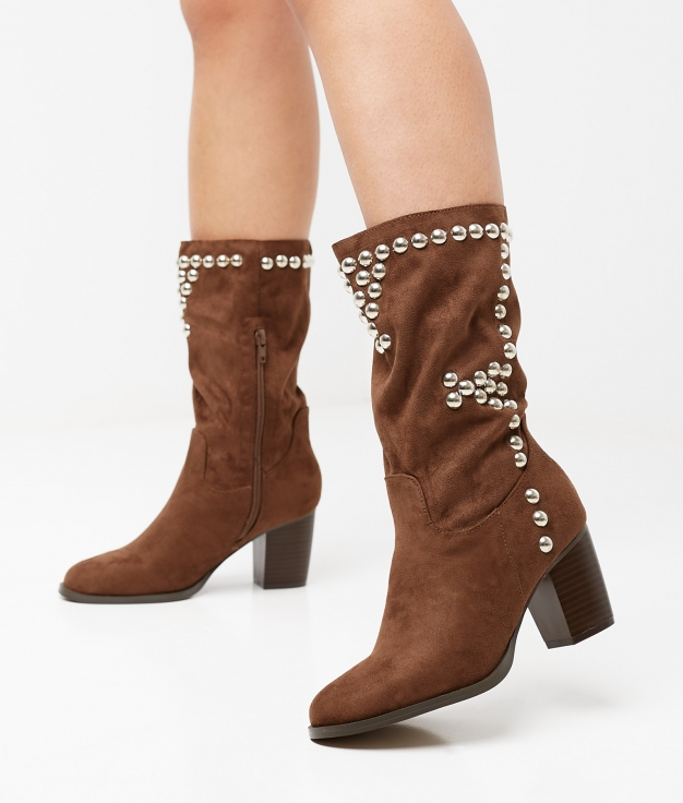 Dundy Boot - Brown