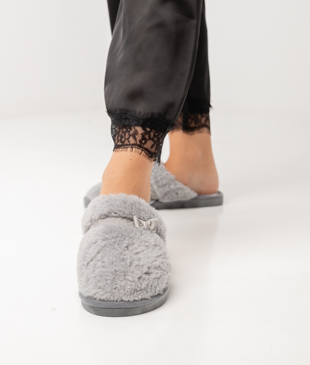 CHAUSSURE LAZY - GRIS