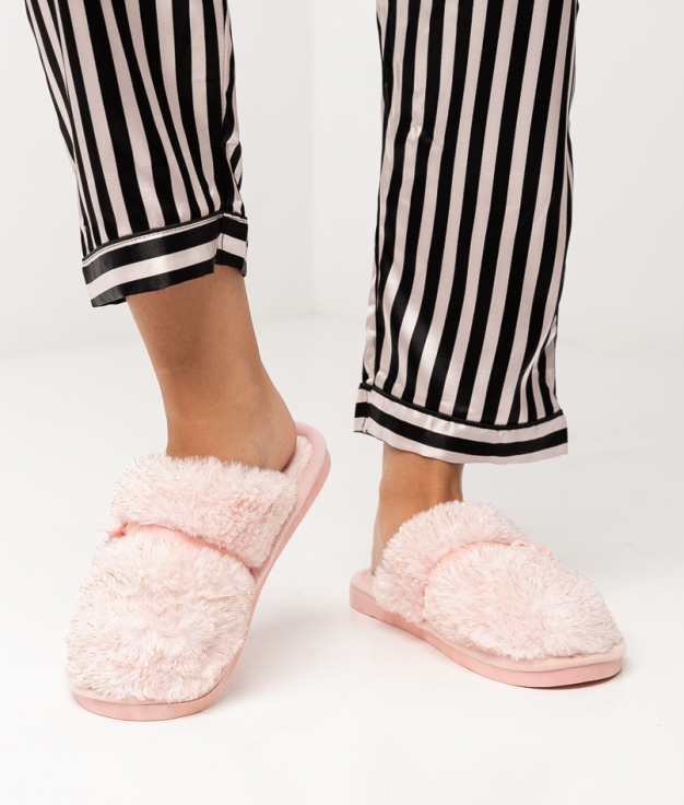 CHAUSSURE LAZY - ROSE