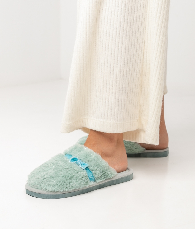 LAZY SLIPPERS - GREEN