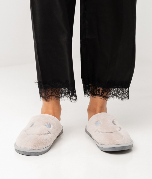 JAPY SLIPPERS - GREY