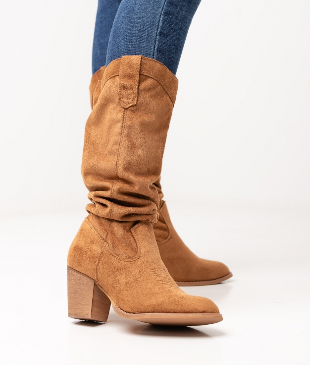 Limpa Knee-Lenght Boot - Camel
