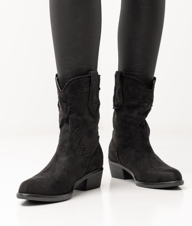 Xenia Low Boot - Black
