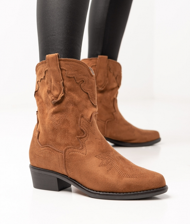 Xenia Low Boot - Camel