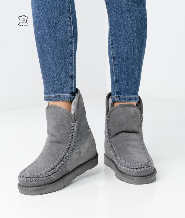 Kera Low Boot - Grey