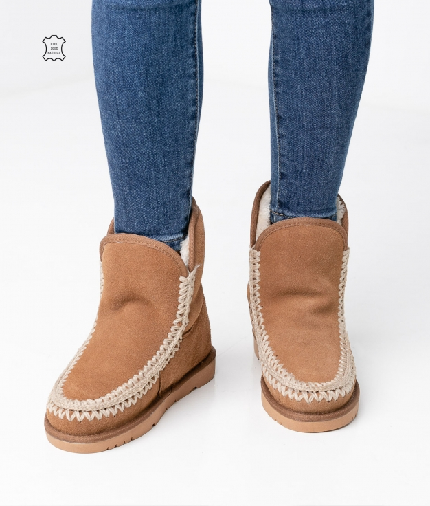 Kera Low Boot - Camel