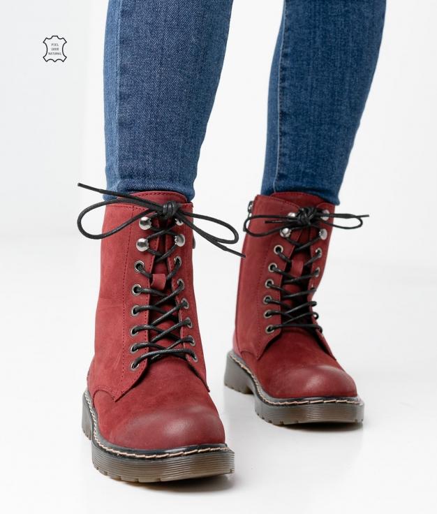 Boot Monic - Grenat