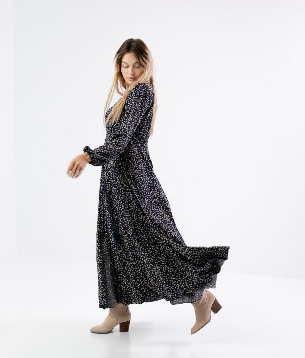 Nadra Dress - Blue