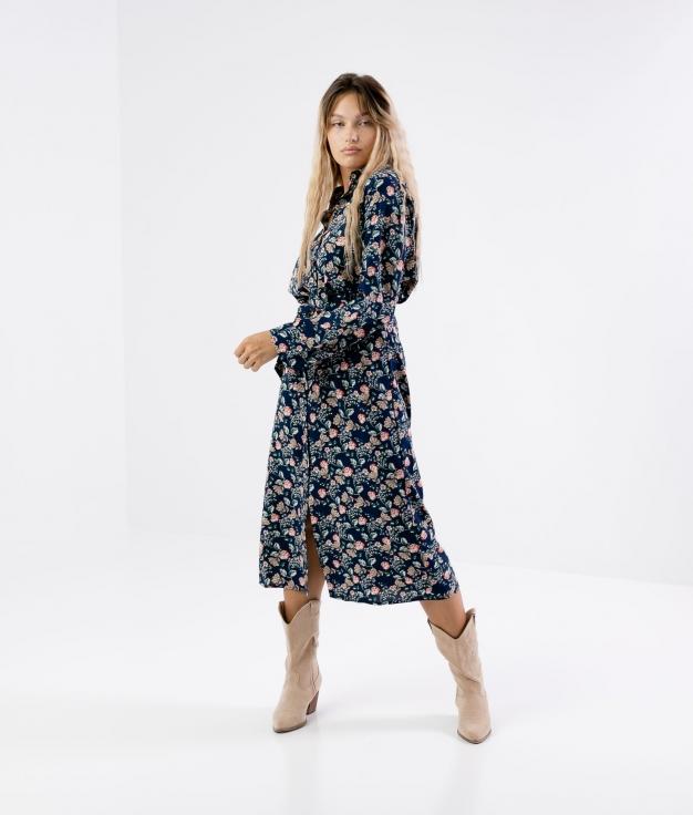 Vestido Necula - Azul