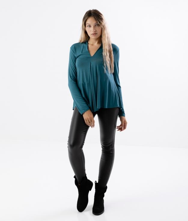 RAISA T-SHIRT - BLUE