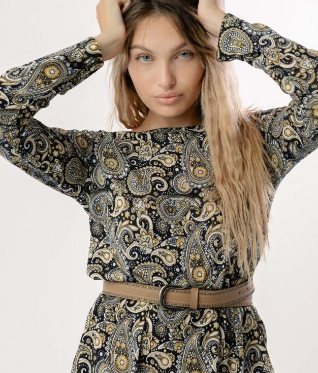 Vestido Pasley - Amarillo