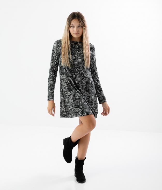 Vestido Pasley - Cinza