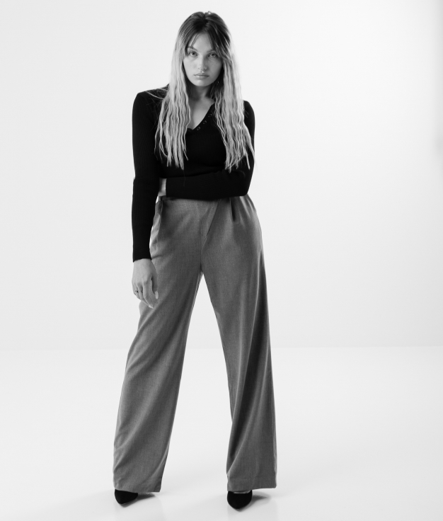 DABER TROUSERS - GREY