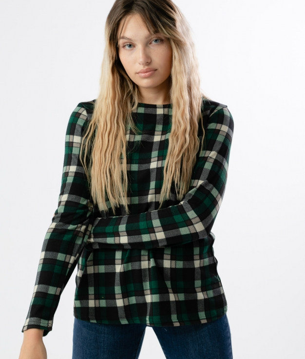 Camiseta Kilt - Verde