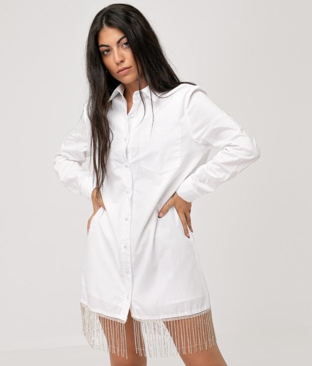 SINGRE DRESS - WHITE