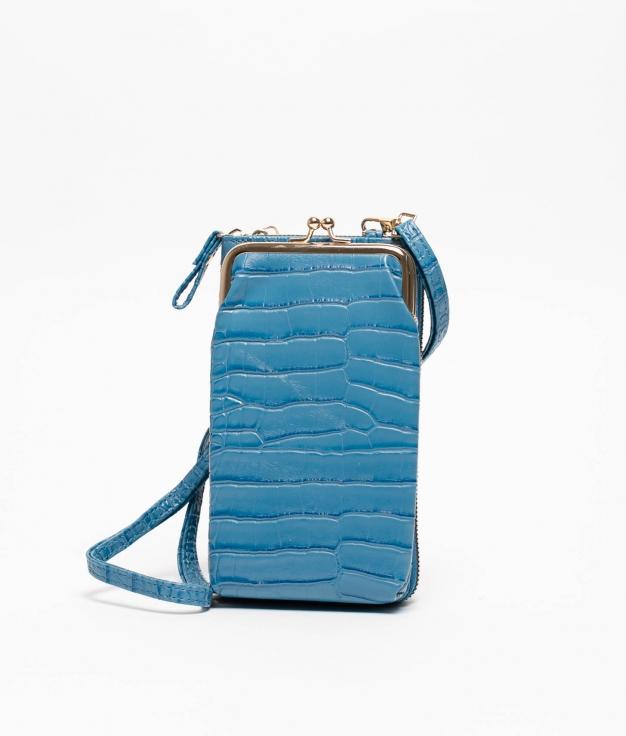 Wallet Mobile Holder Galapa - Blue
