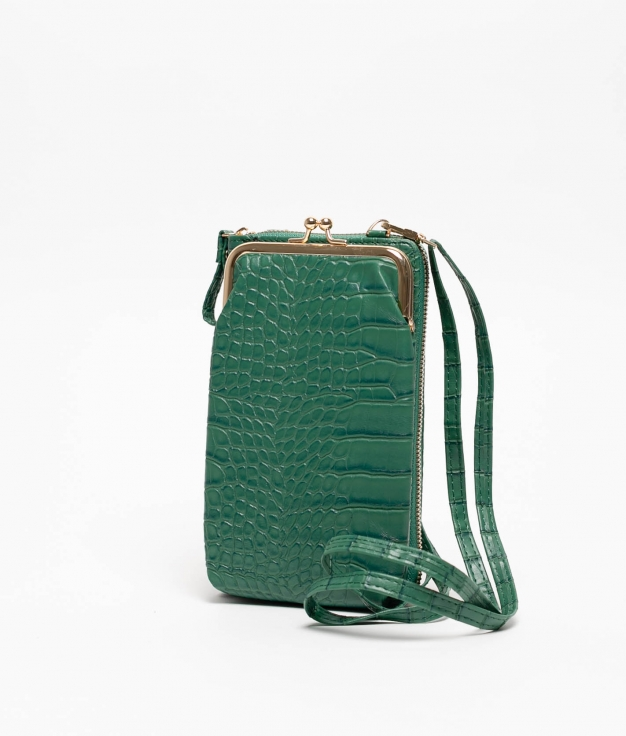 Wallet Mobile Holder Galapa - Green