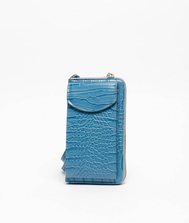Wallet Mobile Holder Saravena - Blue