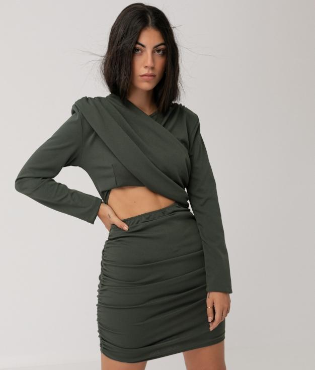 BERRAN DRESS - KHAKI