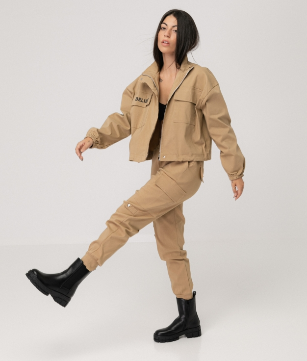 ABUNER TROUSERS - CAMEL