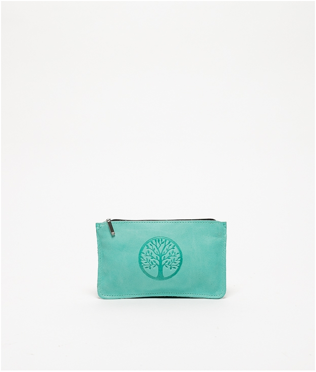 Monedero life - greenish blue