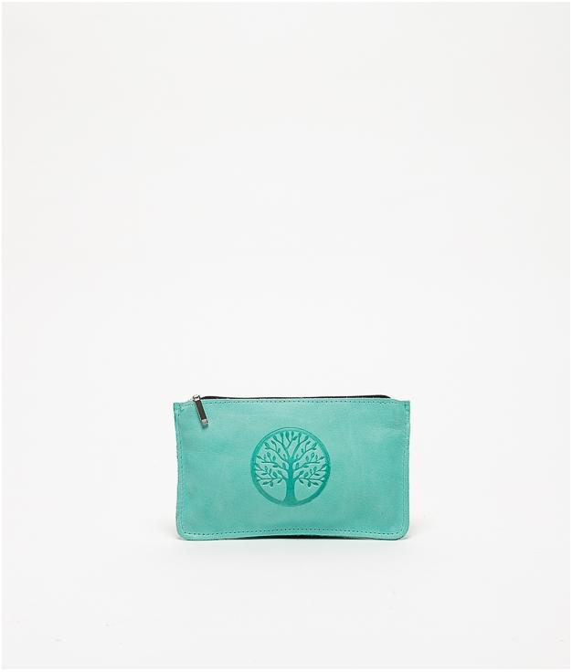 Monedero life - verde azulado