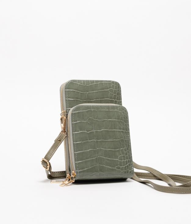 Wallet Mobile Holder Famatina - Green