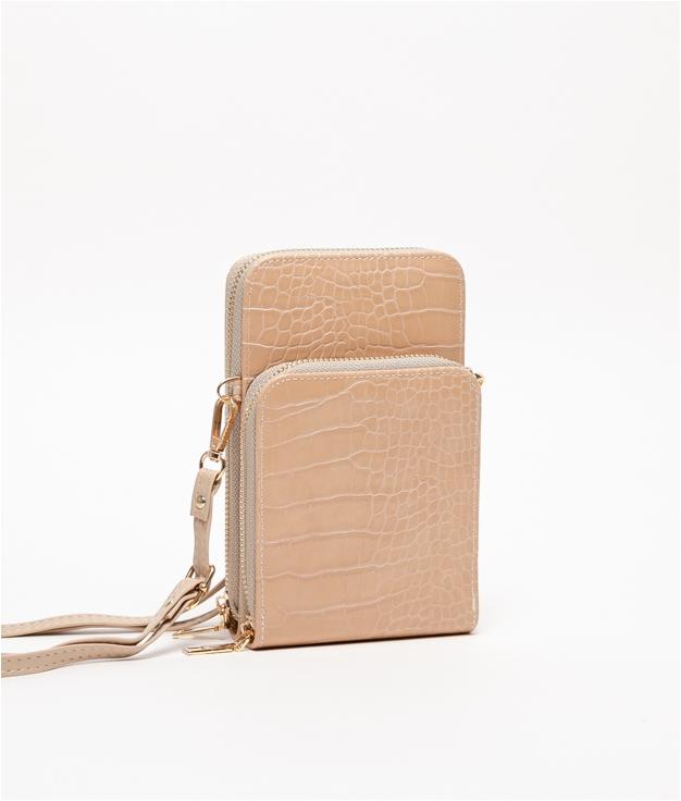 Wallet Mobile Holder Famatina - Beige