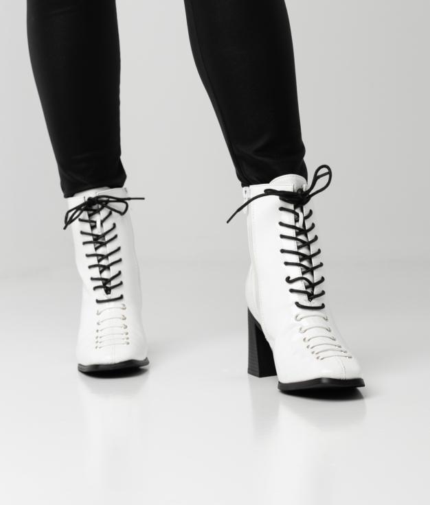 YELDA BOOT - WHITE