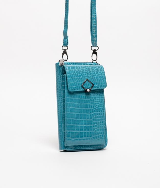Wallet Mobile Holder Rancul - Blue