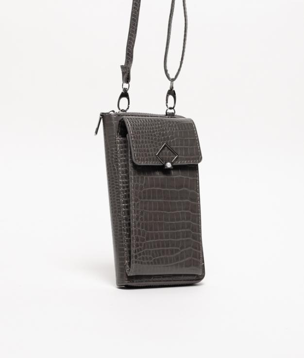Wallet Mobile Holder Rancul - Grey