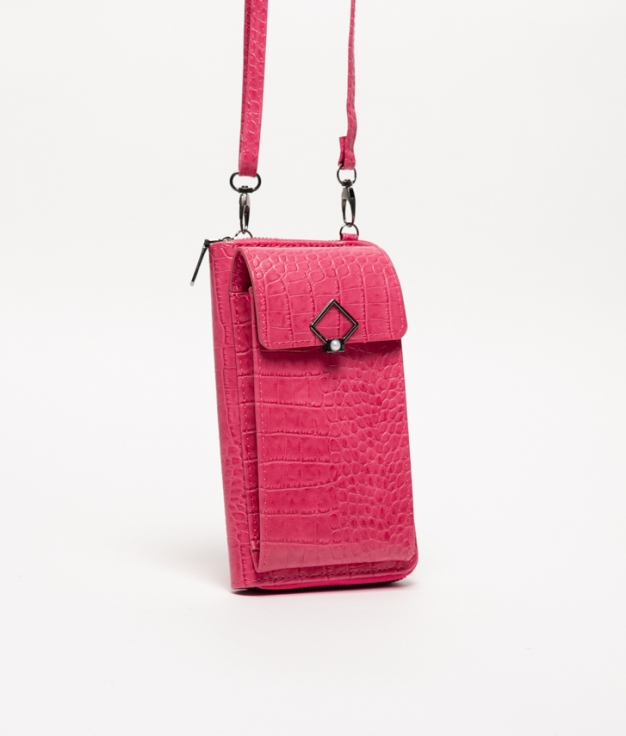 Wallet Mobile Holder Rancul - Fucsia