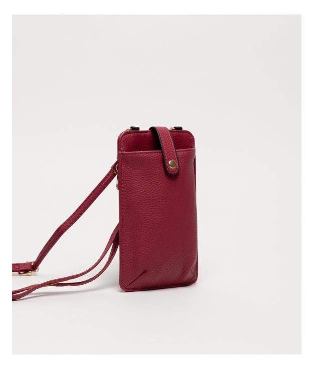 Wallet Mobile Holder Tafi - Burdeos