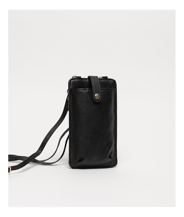 Wallet Mobile Holder Tafi - Black