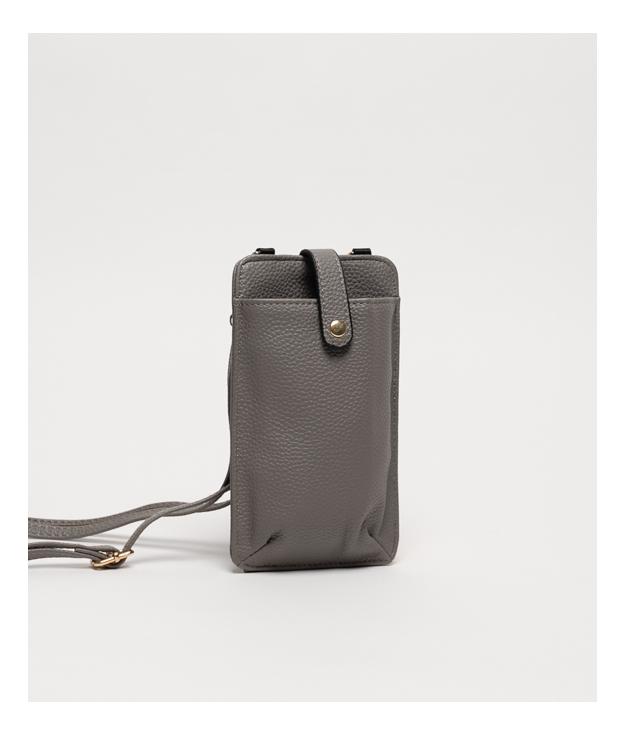 Wallet Mobile Holder Tafi - Grey