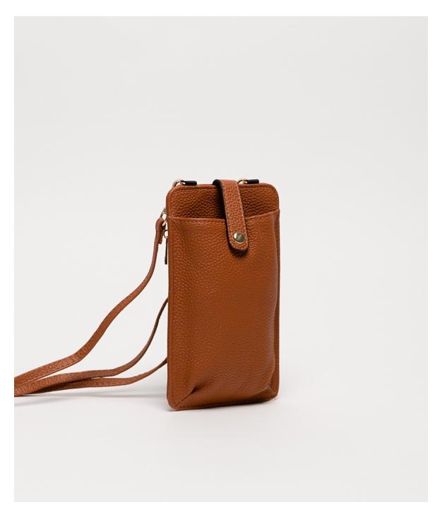 Wallet Mobile Holder Tafi - Brown