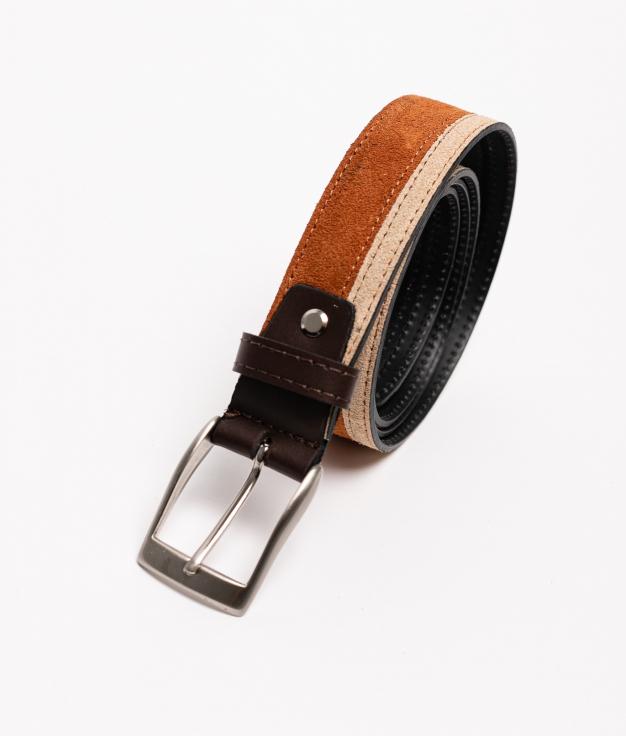 Cinturón de piel Bico - Leather