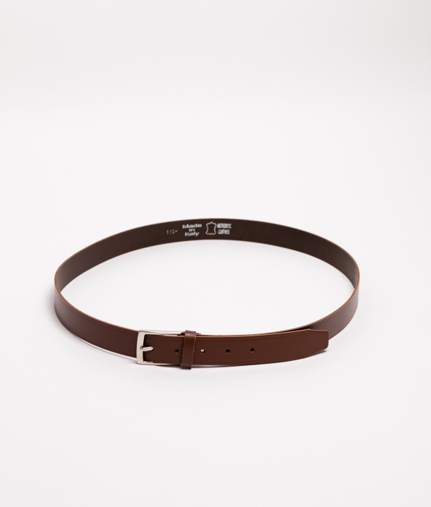 Cinturón piel Carleto - marron
