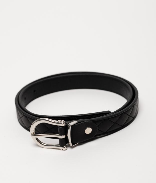 Cinturón X - nero