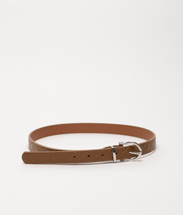 Cinturón X - taupe