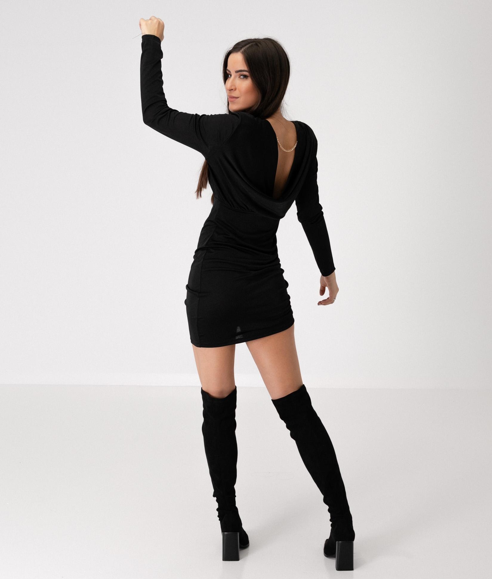 FISKAR DRESS - BLACK