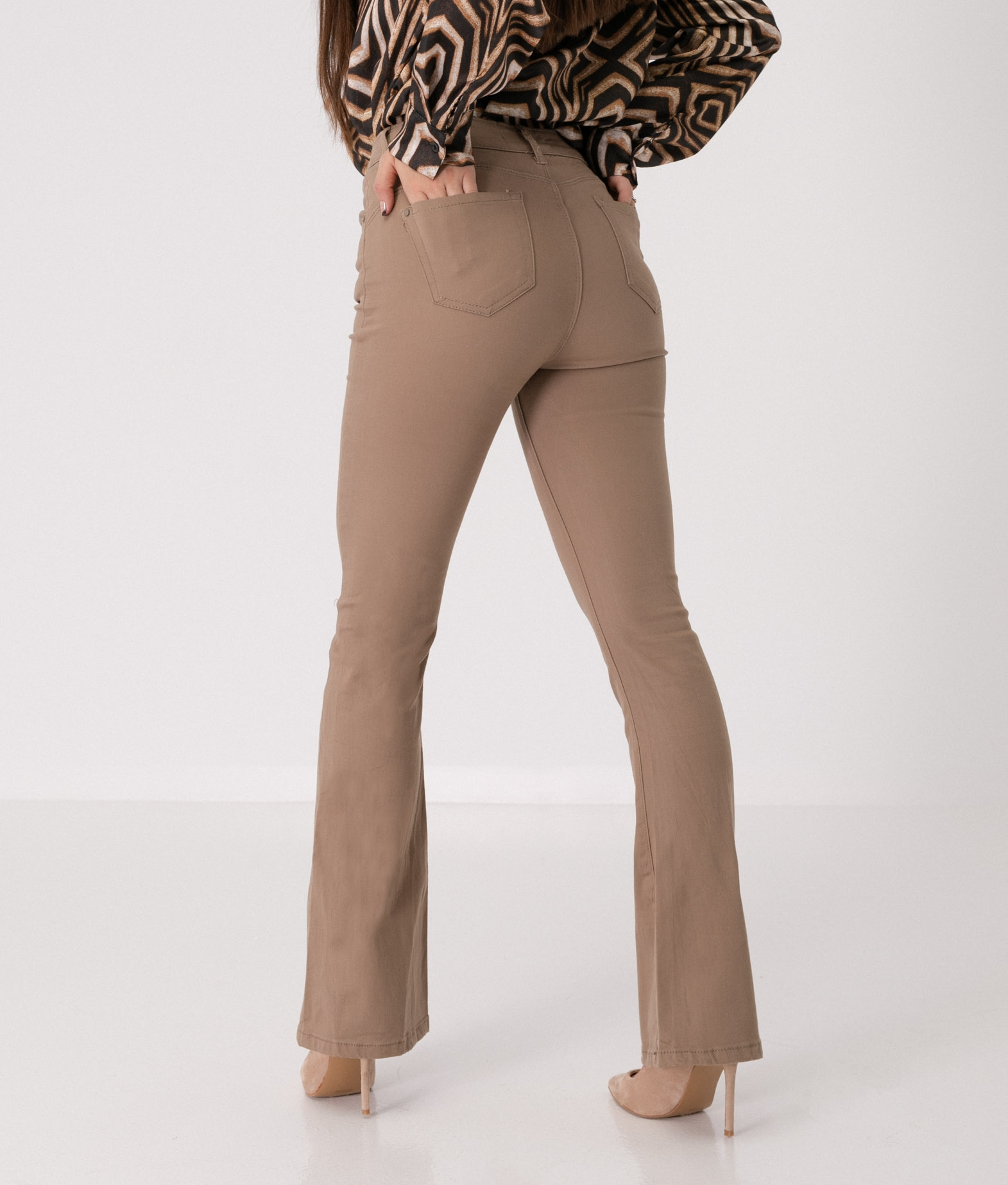 COBAS TROUSERS - TAUPE