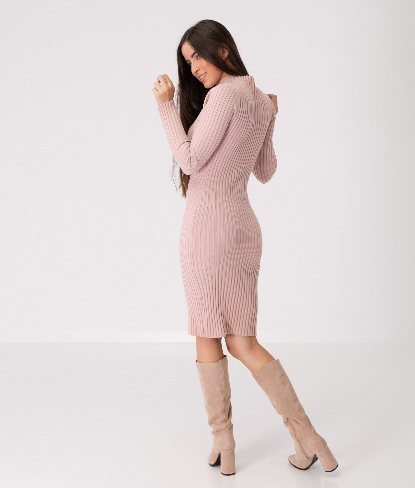 YUNCALE DRESS - PINK