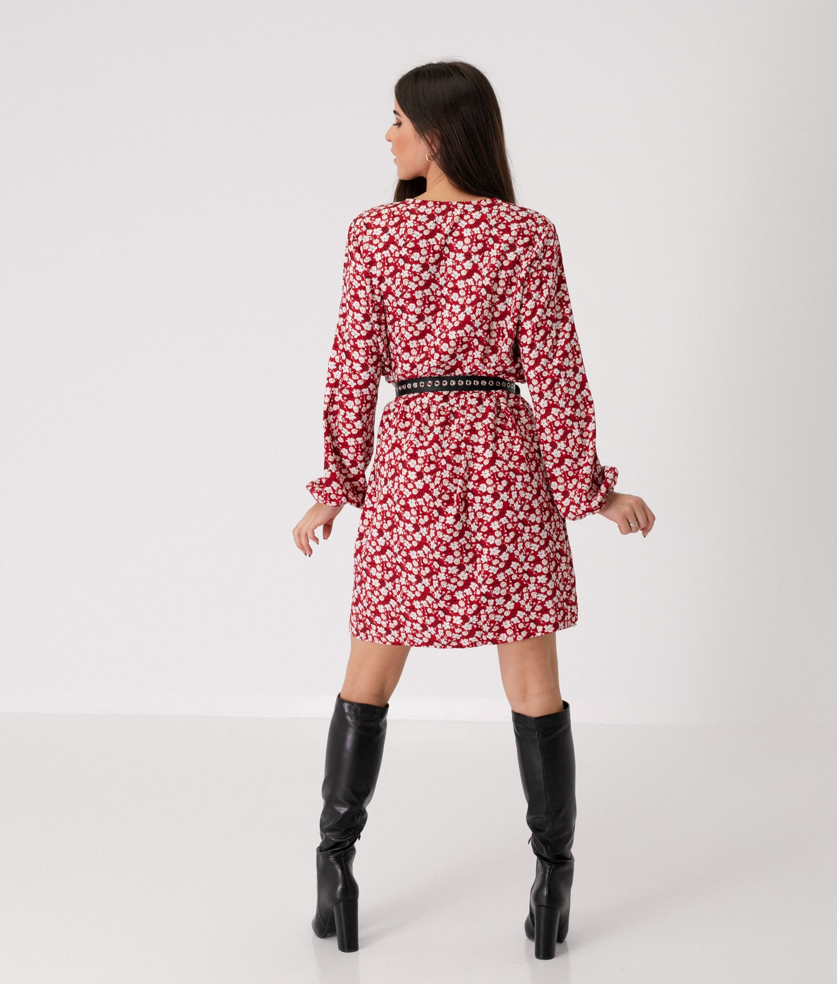 DRESS CANTIME - RED