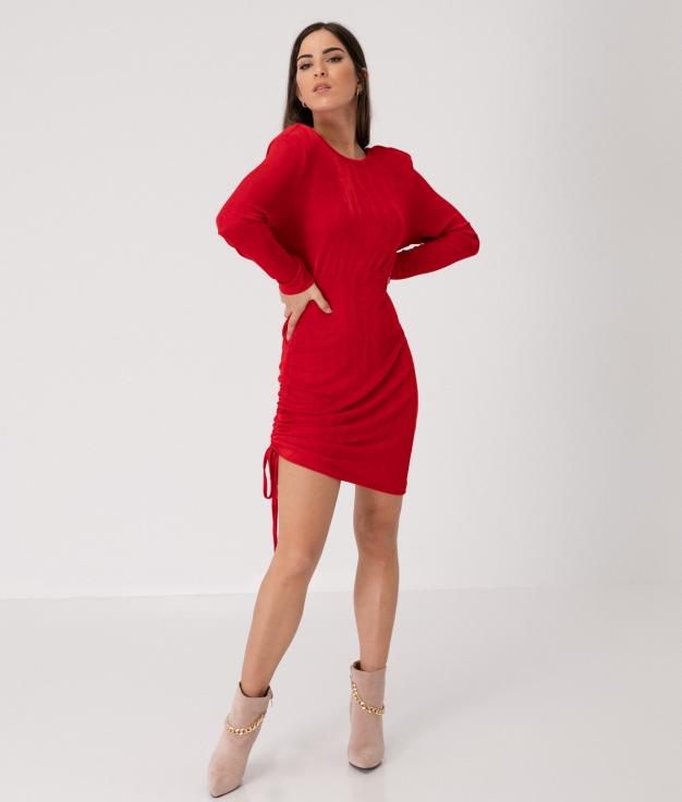 FISKAR DRESS - RED