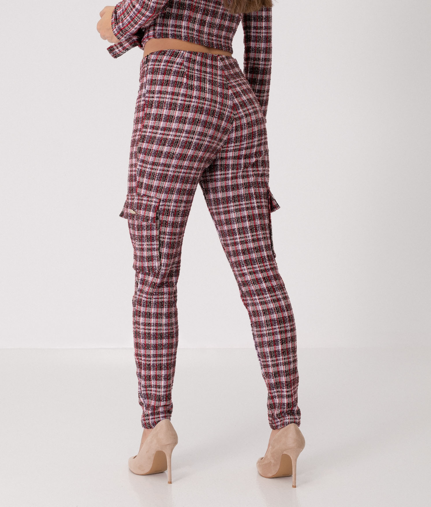 XENIA TROUSERS - RED