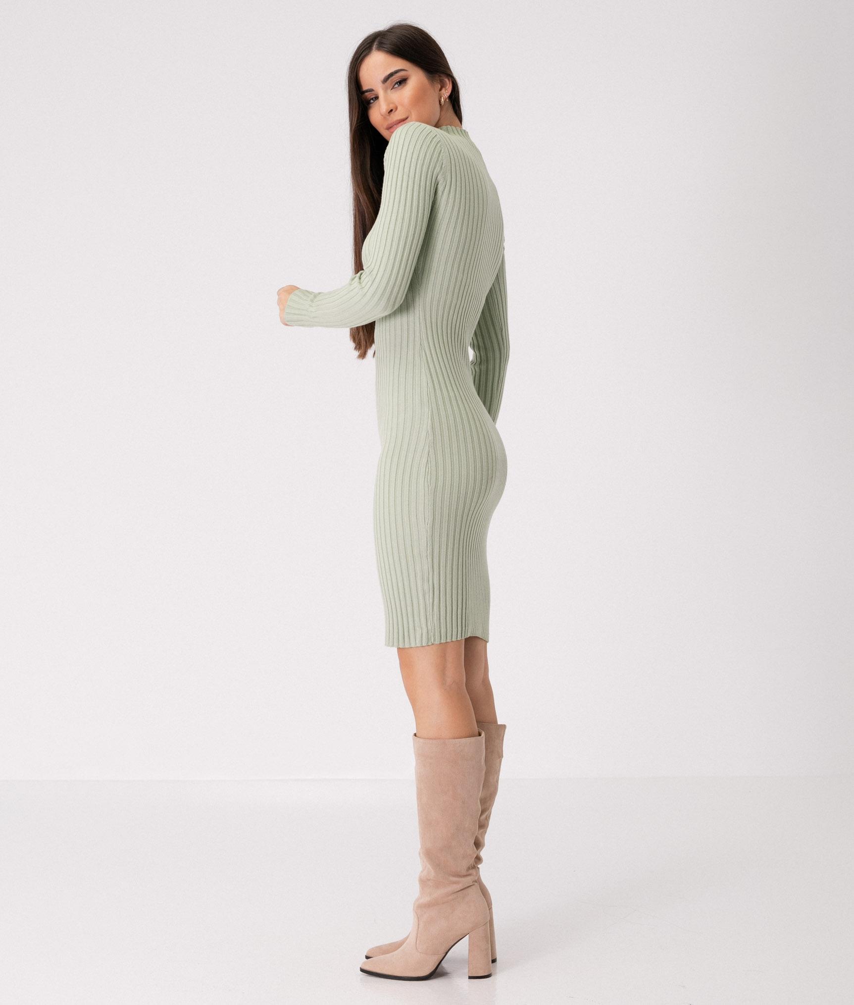 YUNCALE DRESS - GREEN