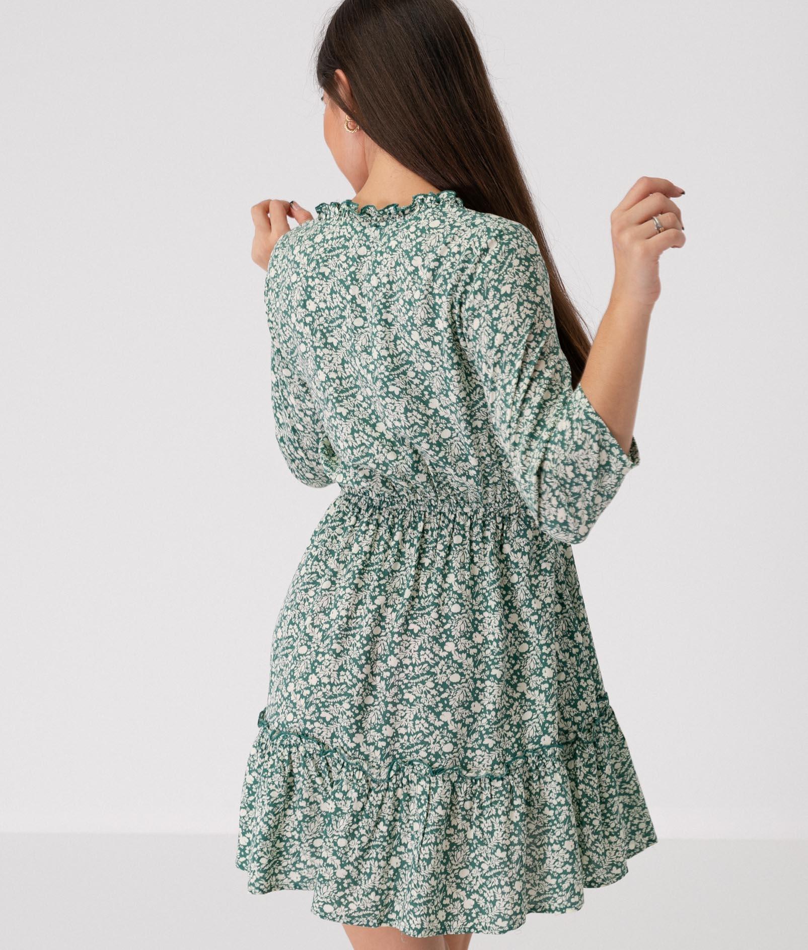 CHIAPA DRESS - GREEN