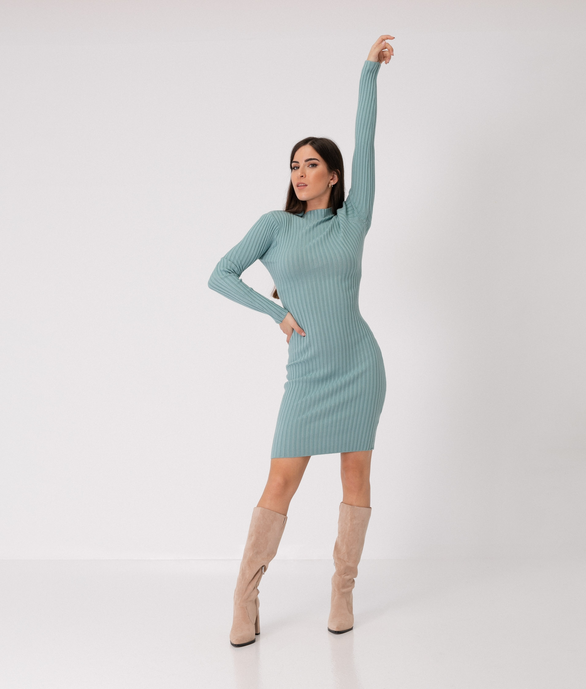 YUNCALE DRESS - BLUE